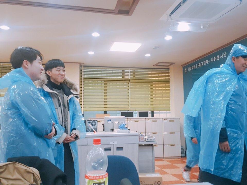 [ERICA 사회봉사단]희망한대 6기 입학식 봉사활동